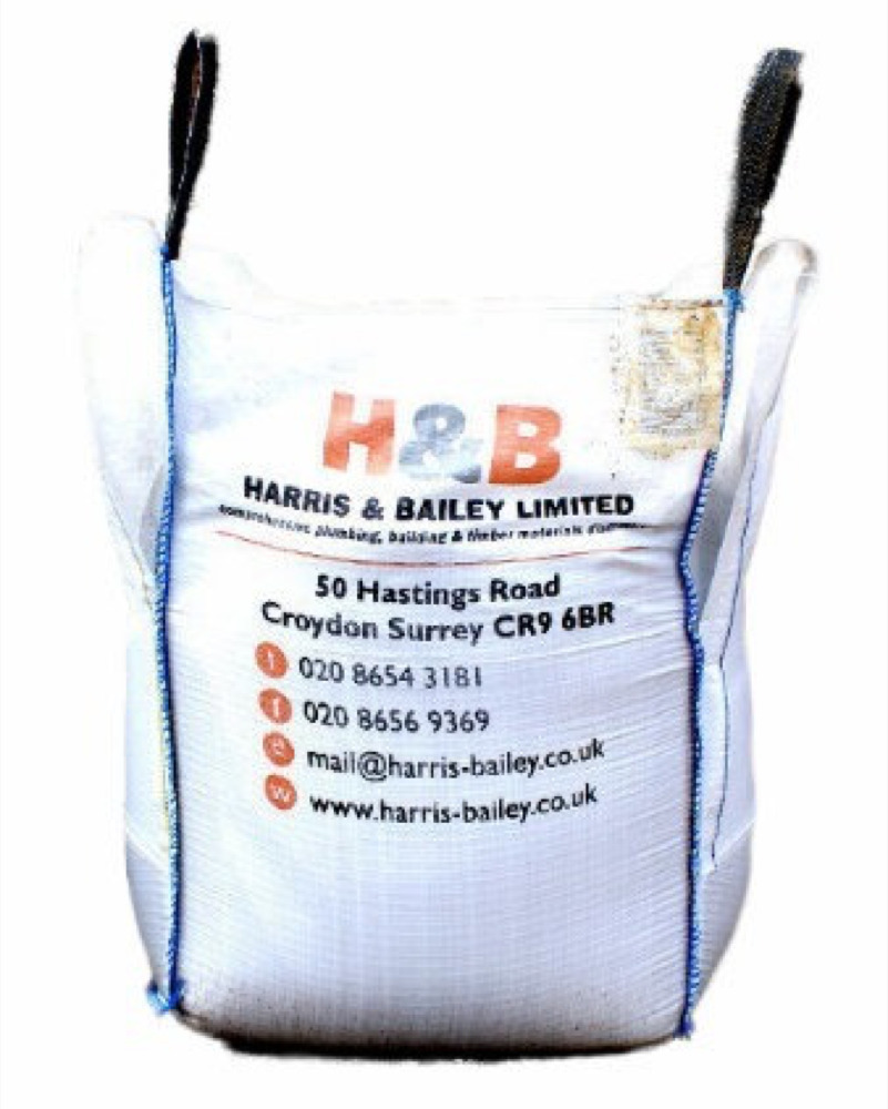 Bulk Bag Of Sharp Washed Screeding Sand