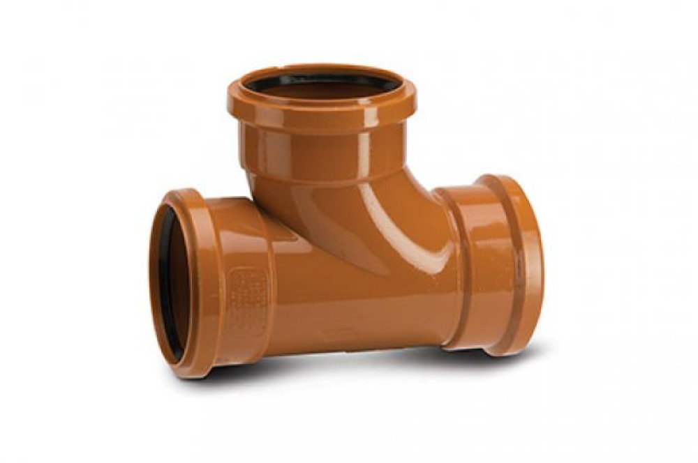 Polypipe Equal Junction Triple Socket