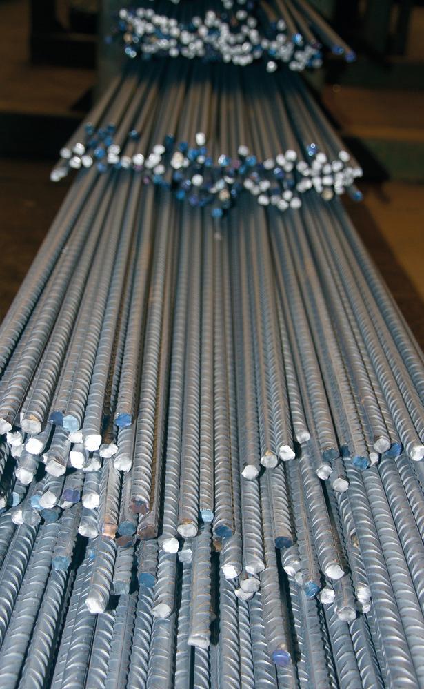 Reinforcing Rod Length