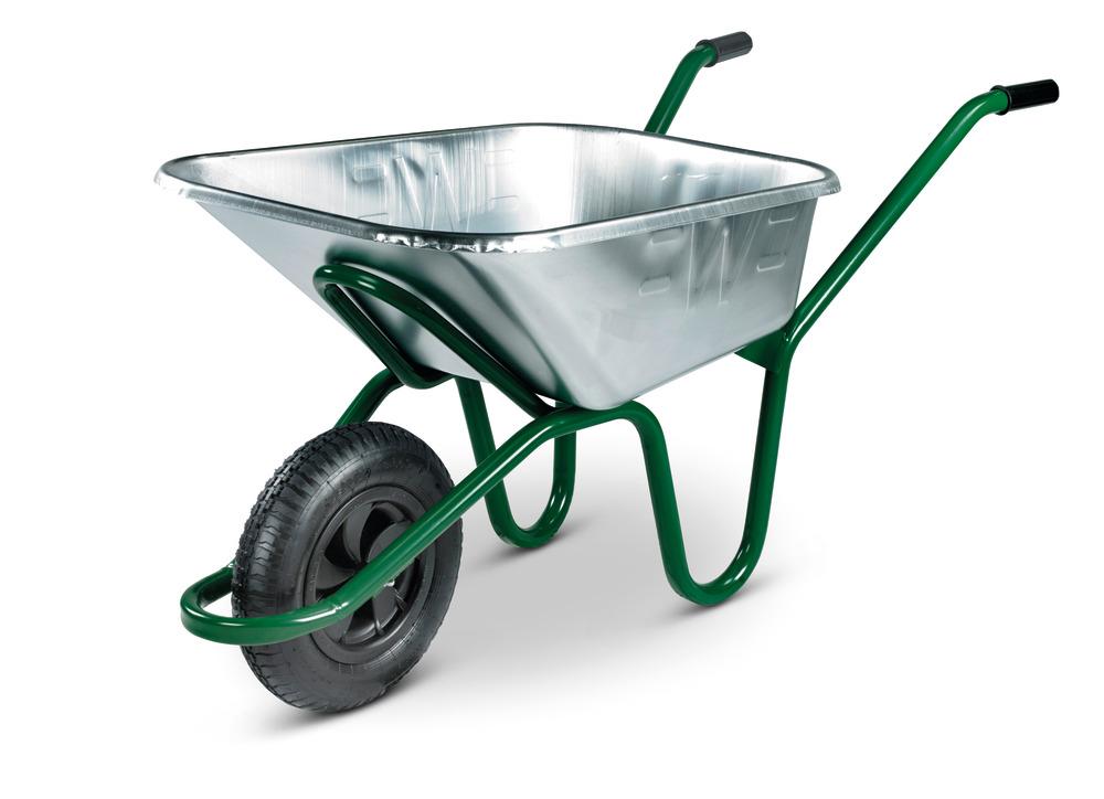 Invincible Galvanised Wheelbarrow Pneu
