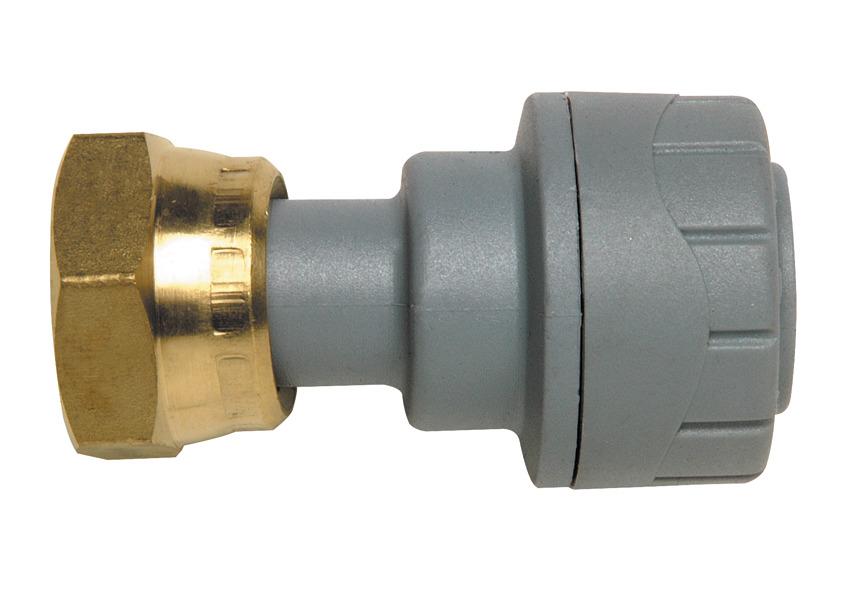 Polyplumb Straight Tap Connector