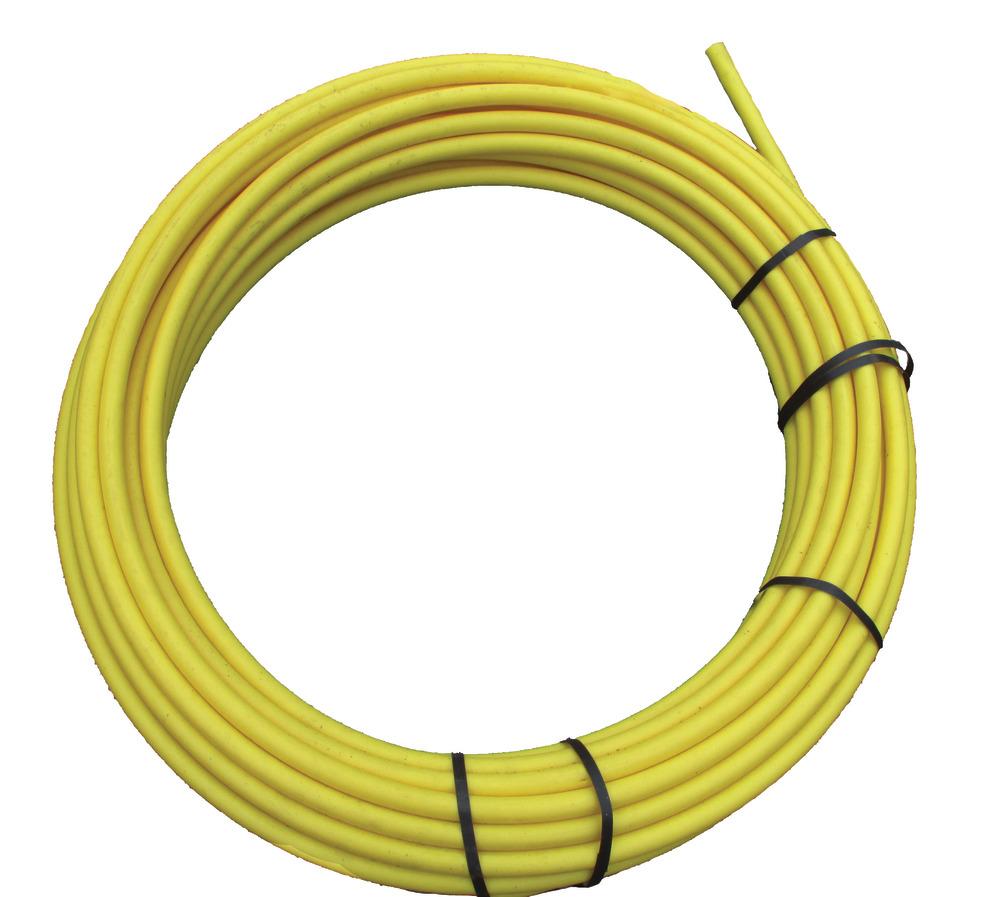 Coil Yellow Poly Tube Diameter