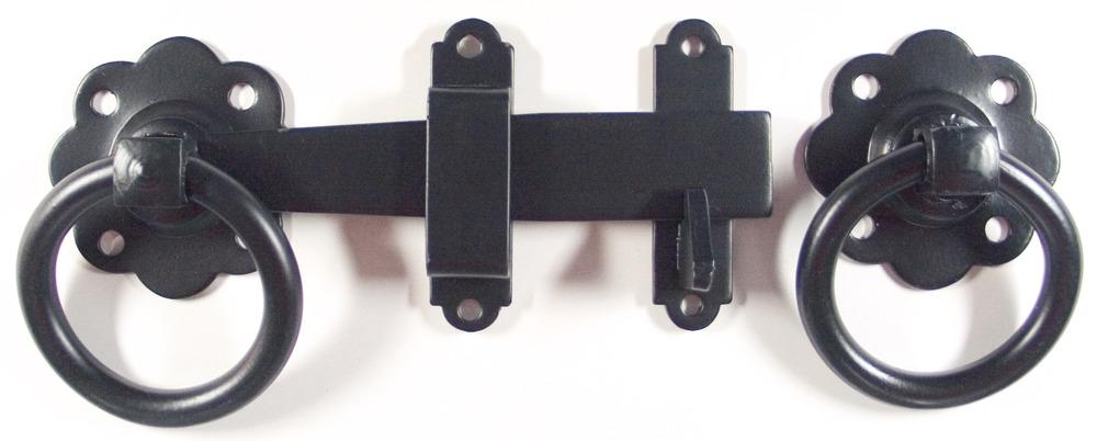 Eclipse Gate Latch Black 152mm J93180 new in pack