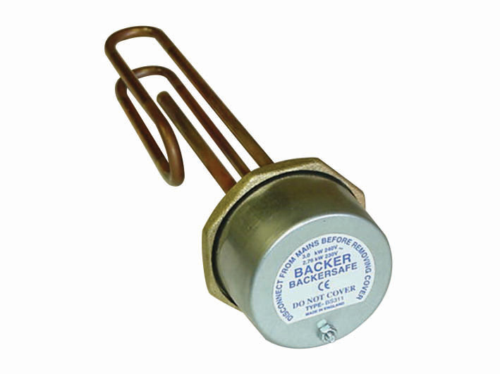 Standard Immersion Heater Comes With Stat