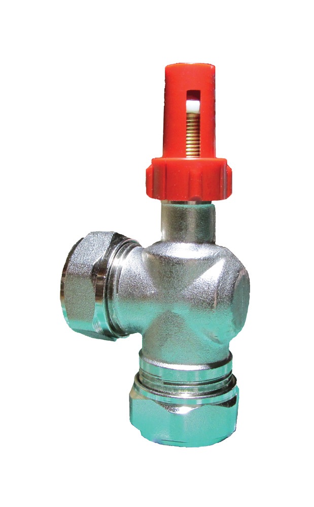 Altecnic Eres Angle By-Pass Valve