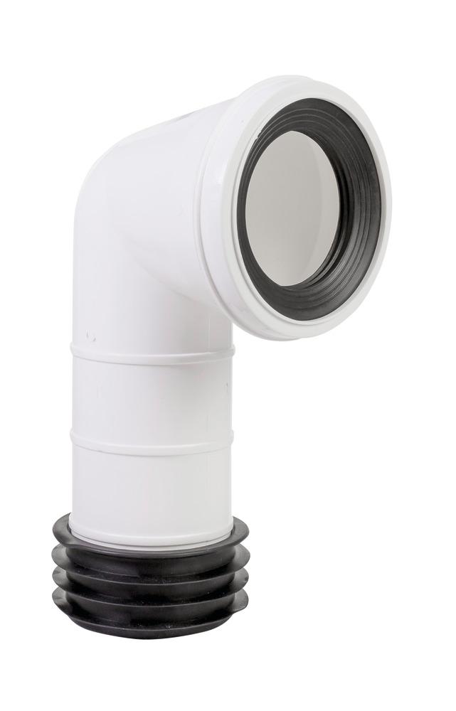 Bent Toilet Pan Connector
