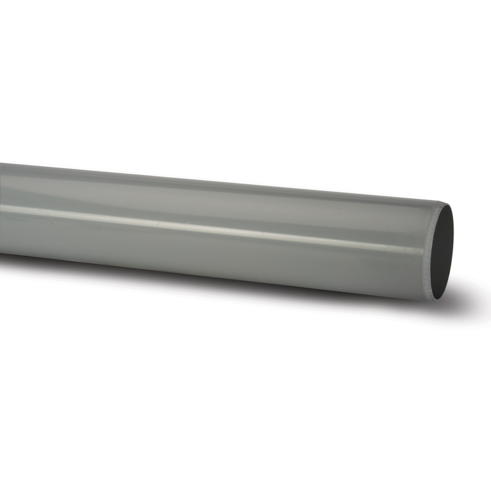 Polypipe Plain End Pipe Soil
