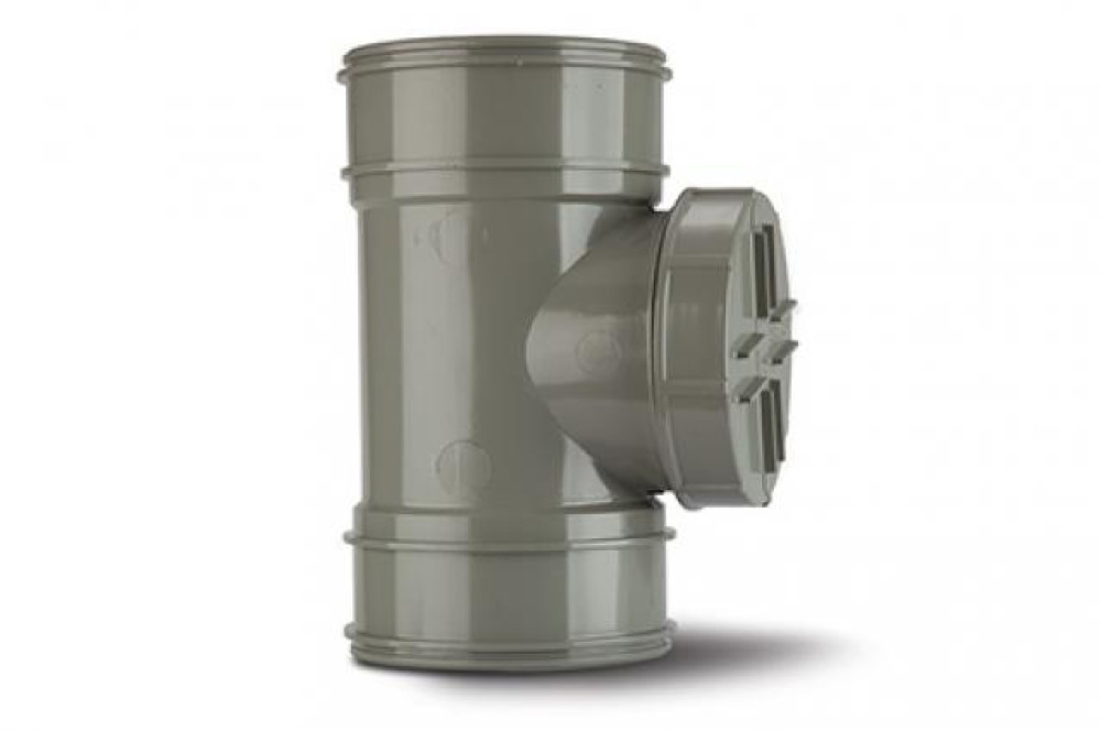 Polypipe Acc Pipe Double Socket Soil