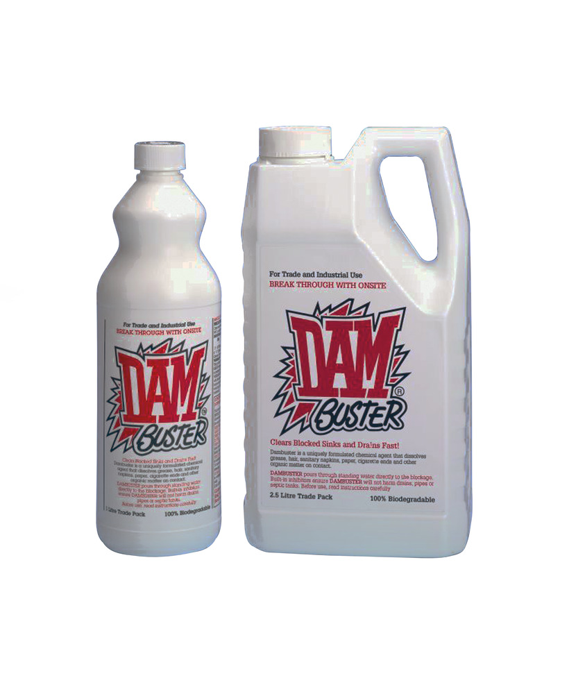 Dambuster Drain Cleaner (LX51002) -Harris & Bailey Ltd