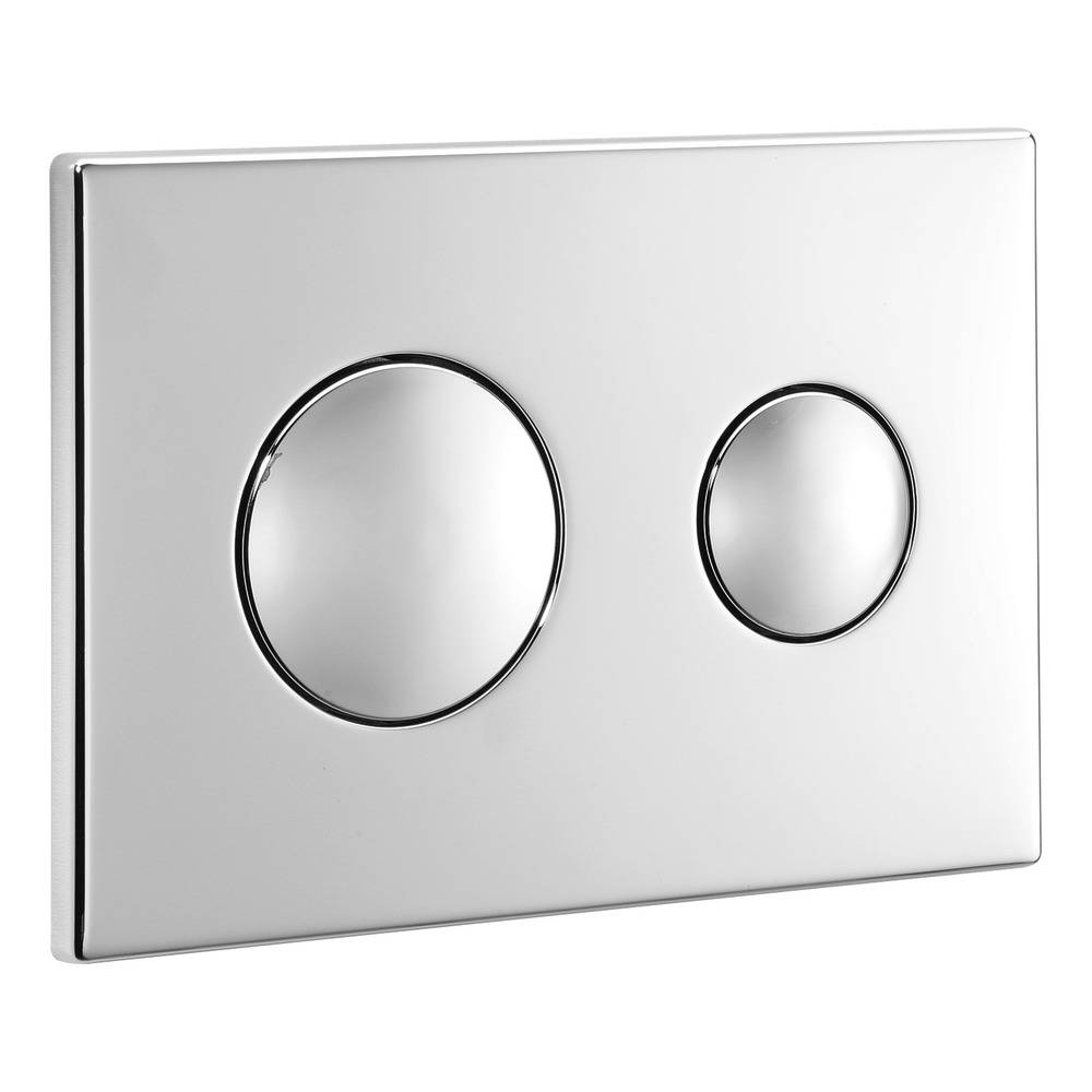 Flushplates Chrome Plate Dual Flush