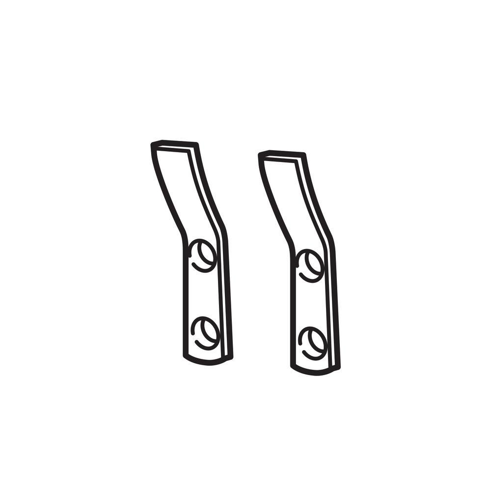 Urinal Hangers Pair