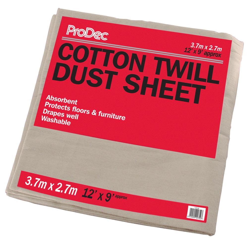 Dust Sheet Cotton