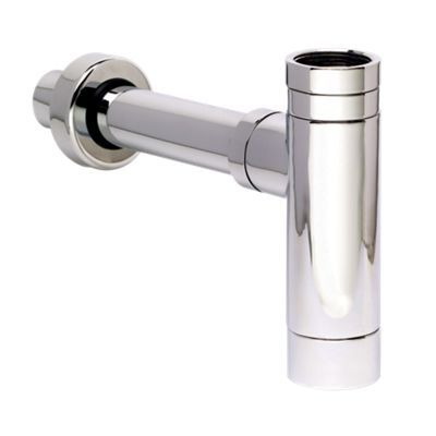 Embrass Modern Chrome Plate Bottle Trap And Ext