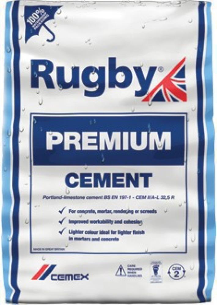 Rugby Premium Plastic Cement 25KG