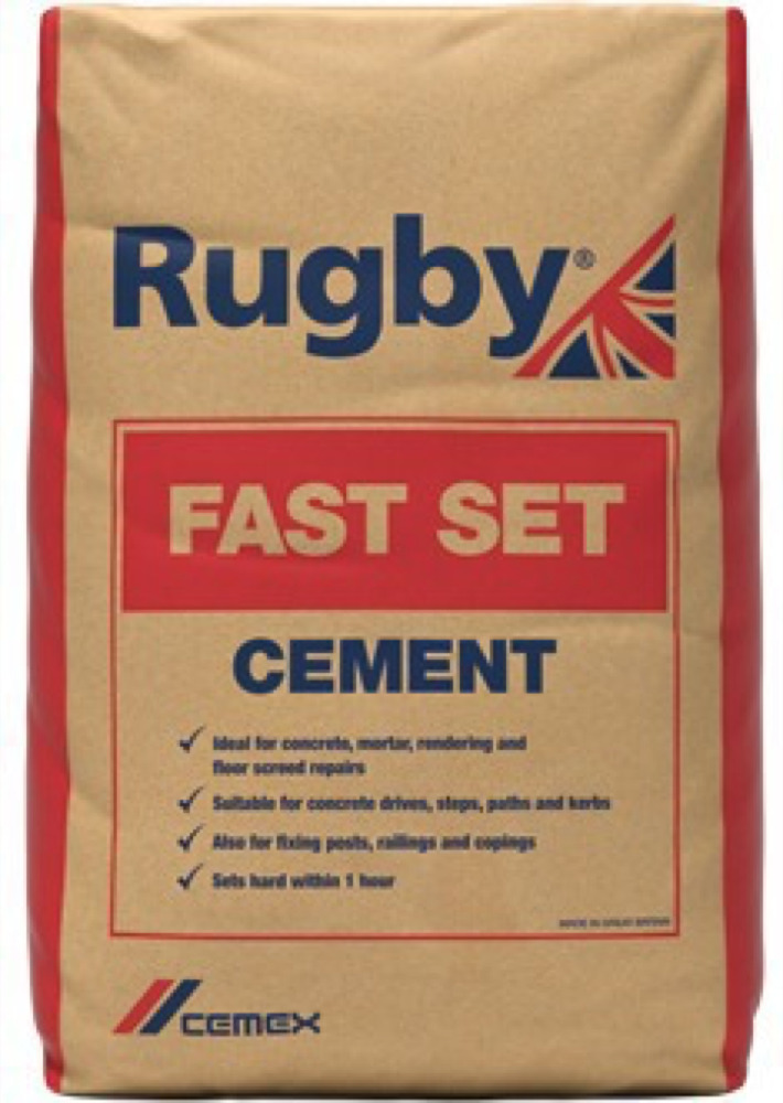 Rugby Fastset Cement