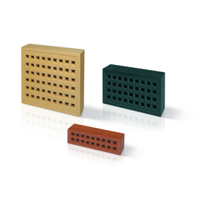 T/C Red 215 X 65mm Air Brick