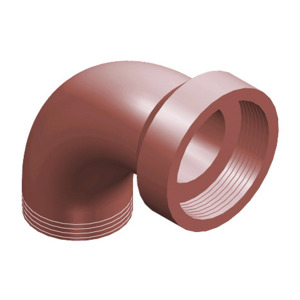 Traditional Salt Glaze Drain Short Radius Bend