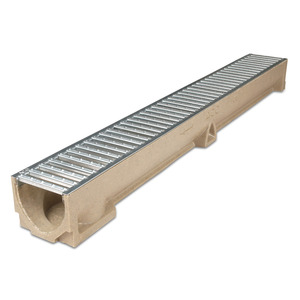 Aco Raindrain Channel with Galvanized Grate