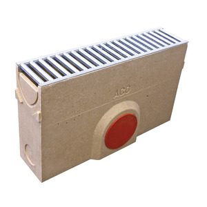 Aco Silt Box with Grating