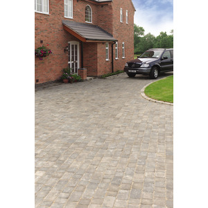 Bradstone Woburn Rumbled Graphite Medium