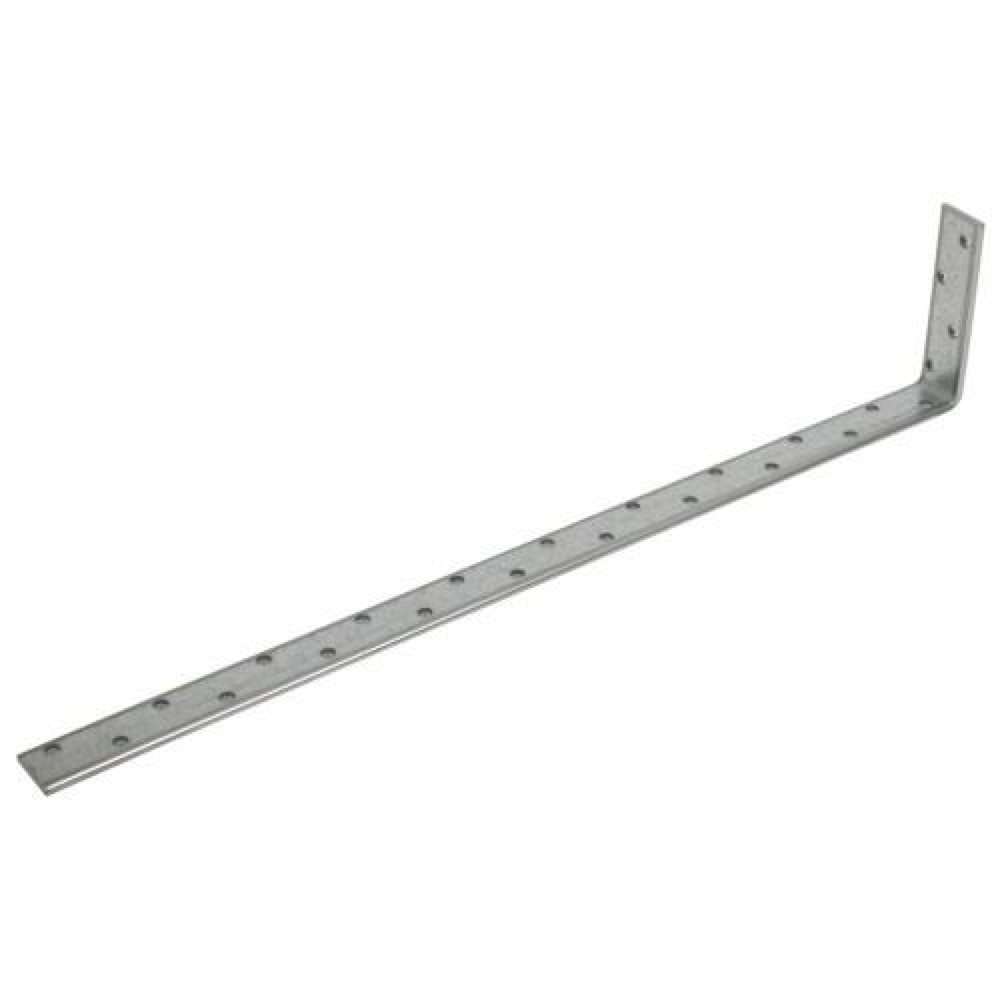 Galvanized Restraint Strap Heavy Duty 1.2M Bent 100mm