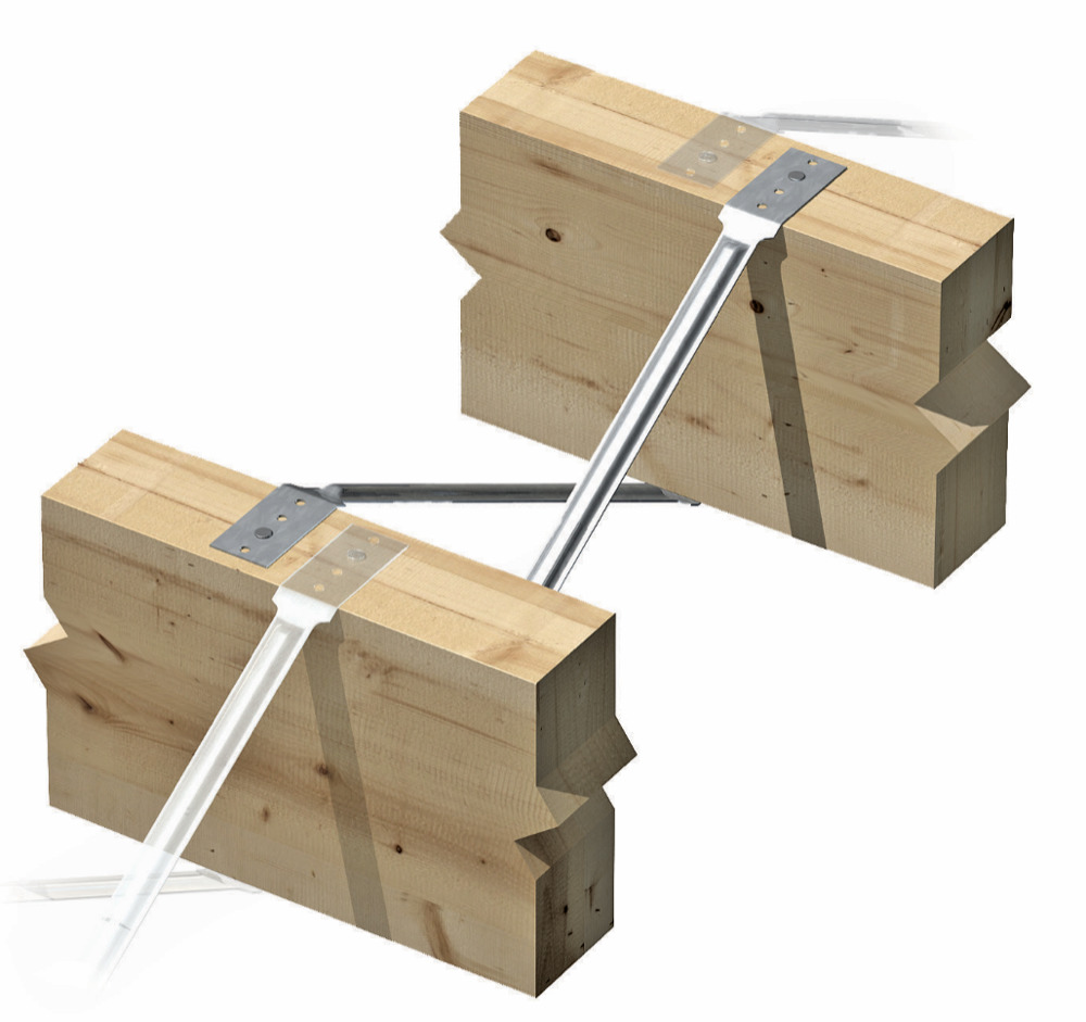 Herringbone Struts