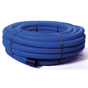 Twin Wall Duct Blue 50M Coil 110/94mm