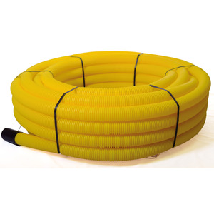 Twin Wall Duct Yellow Coil