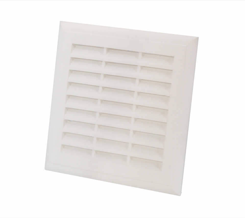 Plaster Louvre Vent Fly Shield