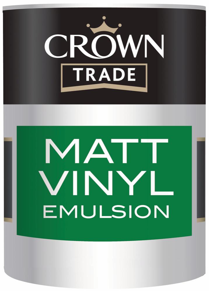 Crown Trade Matt Emulsion Magnolia
