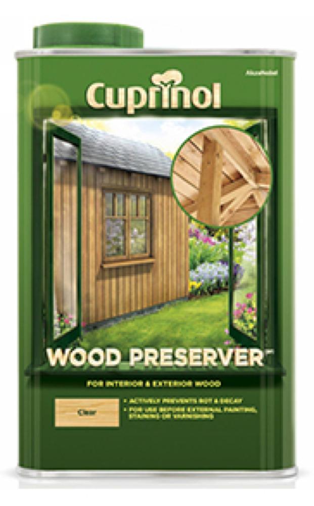 Cuprinol Trade Wood Preserver Clear
