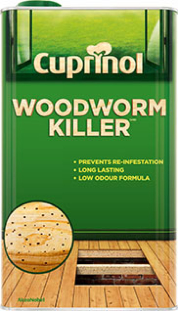 Cuprinol Trade Woodworm Killer