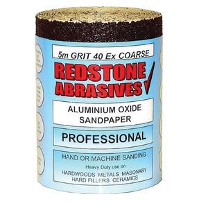Redstone Abrasives Red 80 Grit (5M)