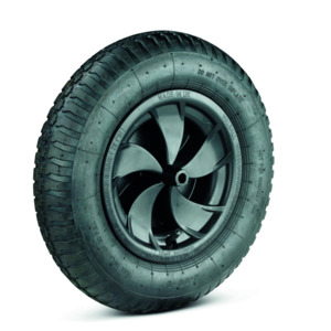 Spare Wheel With Solid Tyre For Wheelbarrow