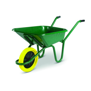 Wheelbarrow With Puncture Proof Tyre