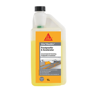 Sika MaxMix Frostproofer and Accelerator