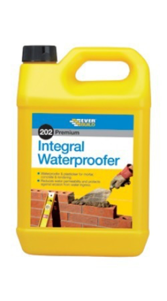 202 Integral Liquid Waterproofer 5ltr
