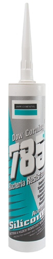 Clear Dow Corning Silicone