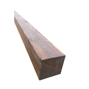 100x100mm 2.4M Treated Fence Posts Brown