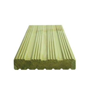 Grooved Decking Plain Pefc