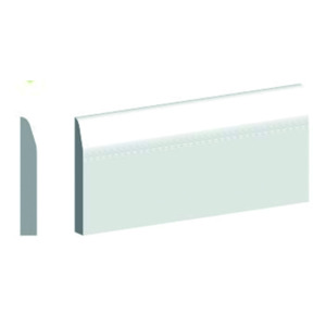 Length Chamfered Skirting