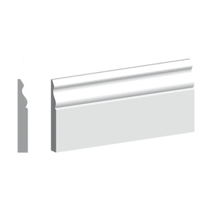 4.4M Length 18mm X 69mm MDF Ogee Architrave