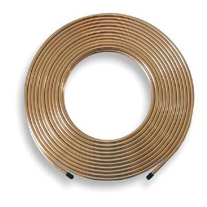 12mm X 3M Plain Copper Tube Table X Per M