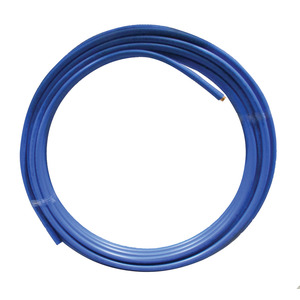 15mm X 25M Blue PVC Copper Tube Table Y Per M