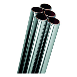 35mm X 3M Chrome Copper Tube Chrome Plate Table X Per M