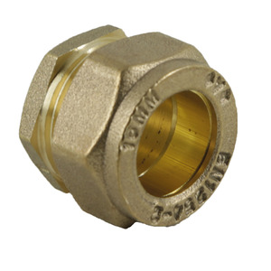 H&B Compression 15mm H323 Stop End