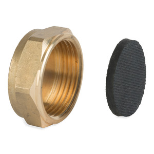 Handb Compression Brass Capnut
