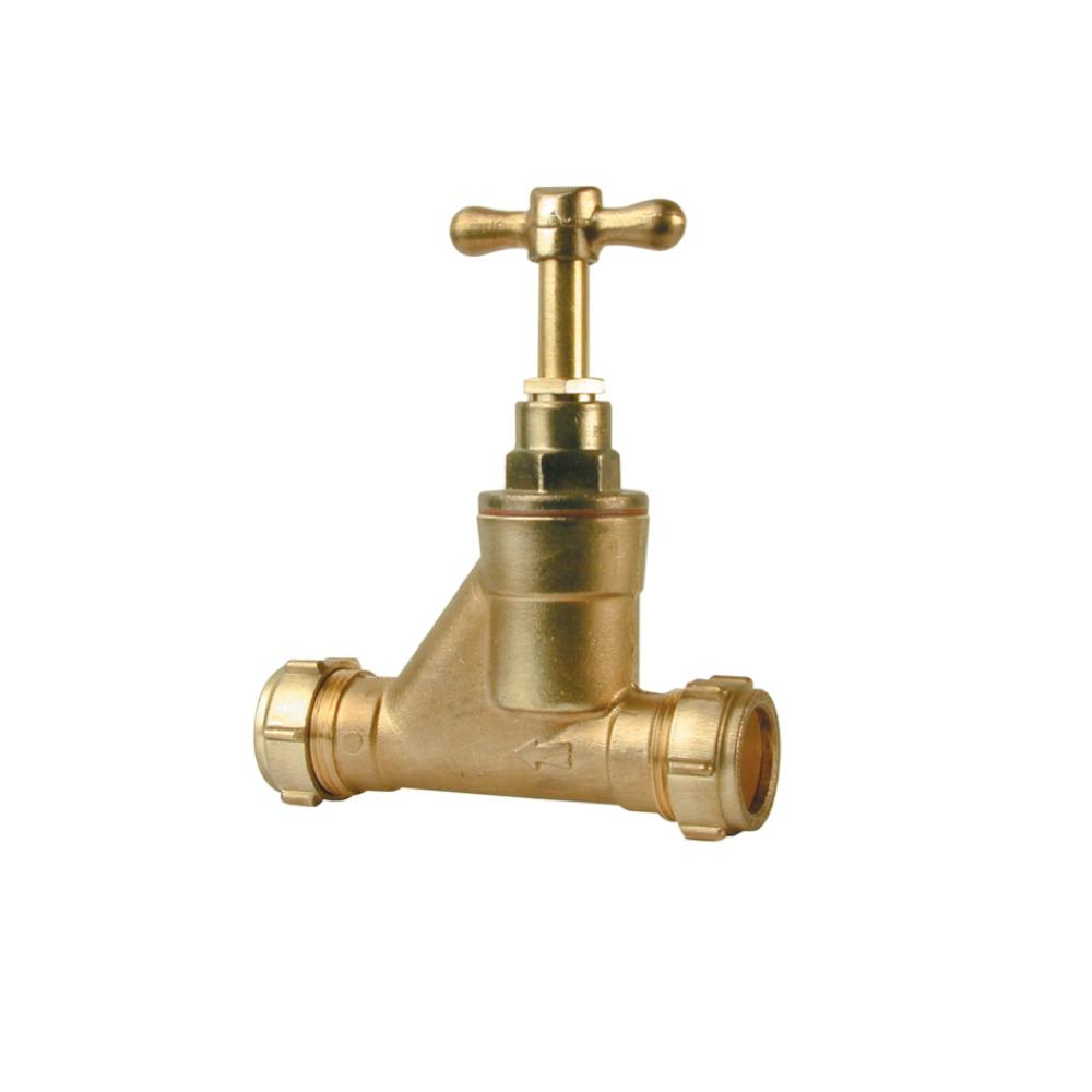 35mm 701 Brass Stopcock