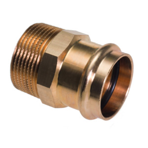 Male Straight Connector Conex B Press