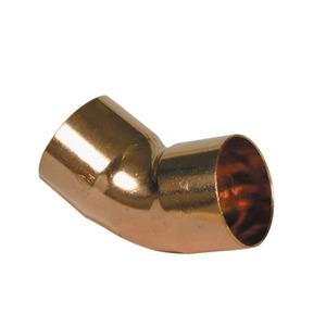 Endfeed Wras 22mm 606 Elbow 45DG (c)